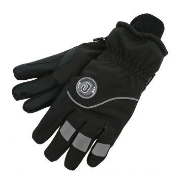 Jacson 5-finger Handske Thermo Svart Junior