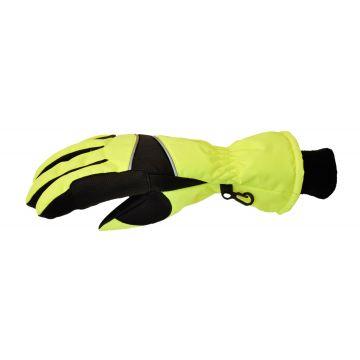 Jacson 5-finger Handske Thermo Neon Gul